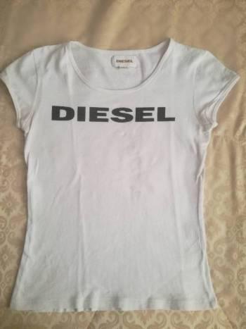 Camiseta blanca diesel