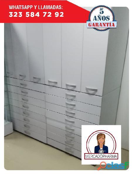 Gavetera estante almacenamiento medicamentos
