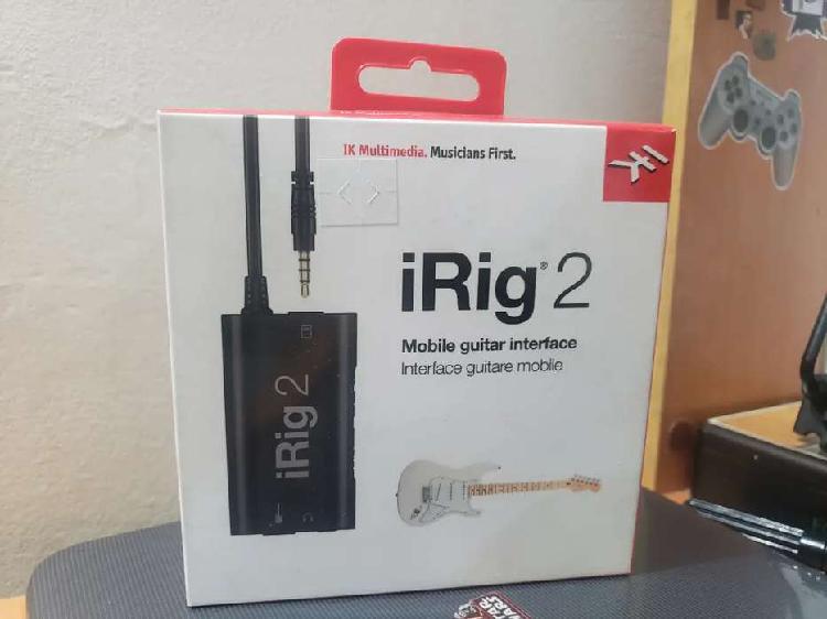 Irig 2 ik multimedia guitarra/bajo interface