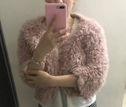 Buso/chaqueta sin forro interno peluche