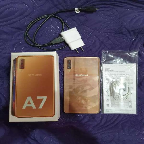 Samsung galaxy a7, dual sim card.
