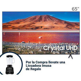 "Televisor Samsung 65"" Crystal UHD 4k Smart 2020"