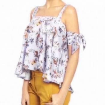 Blusa floral divina studio f nueva