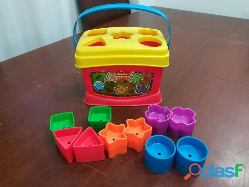 Fisher price caja de figuras geométricas coloridas