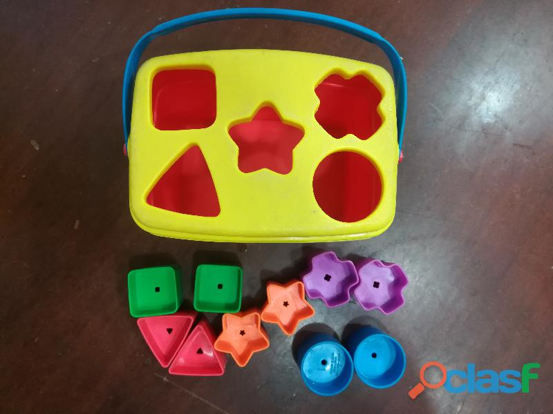 Fisher Price Caja de Figuras Geométricas Coloridas 1