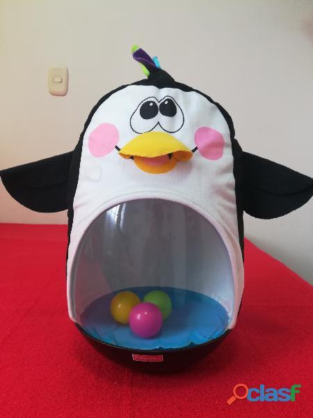 Pinguino tambaleante go bat de fisher price