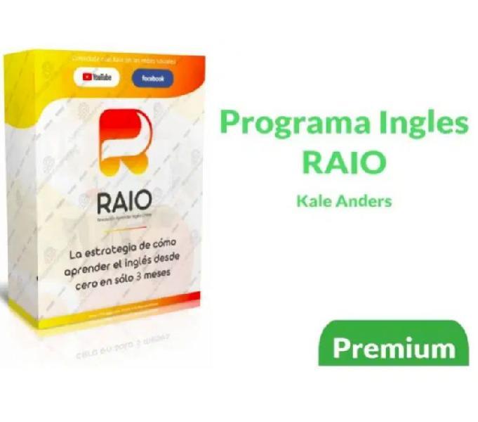 Curso de Inglés Programa RAIO - Kale Anders