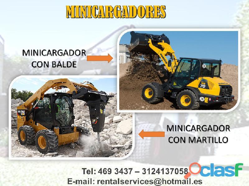 ALQUILER DE MINICARGADORES A NIVEL NACIONAL 3
