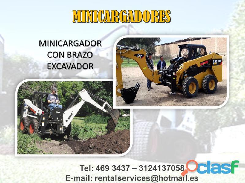 ALQUILER DE MINICARGADORES A NIVEL NACIONAL 4