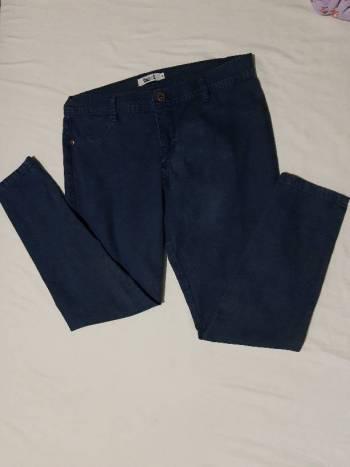 Pantalón facol azul en dril