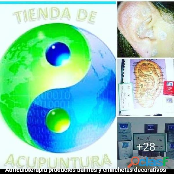 #Balines, #chinchetas, #semillas, Kit de auriculoterapia 2