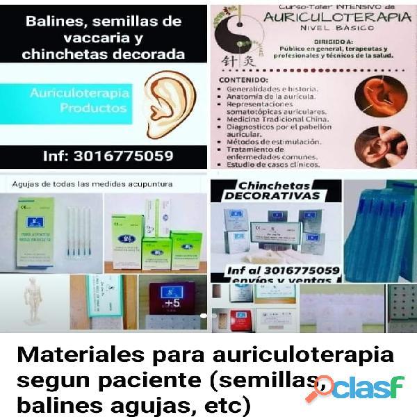 #Balines, #chinchetas, #semillas, Kit de auriculoterapia 11