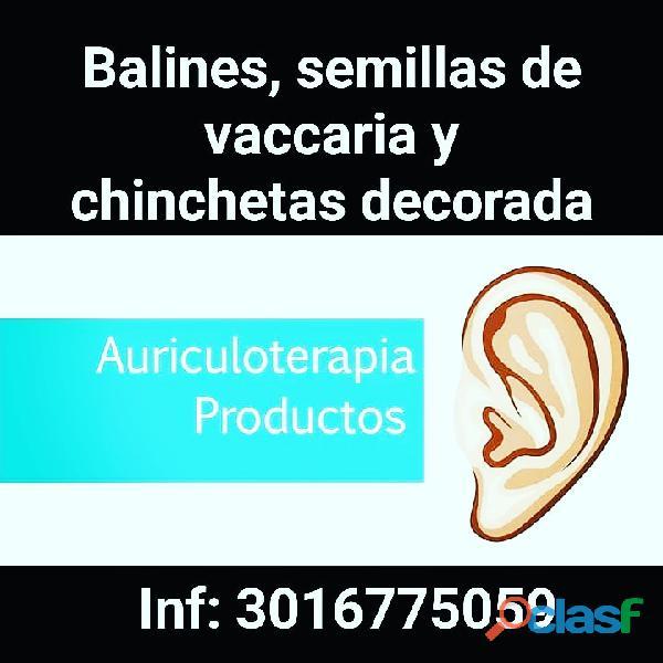 #Balines, #chinchetas, #semillas, Kit de auriculoterapia 14