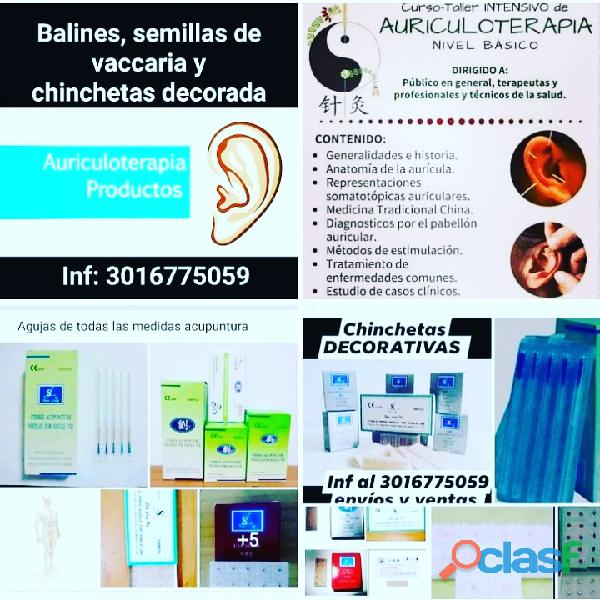 #Balines, #chinchetas, #semillas, Kit de auriculoterapia 19