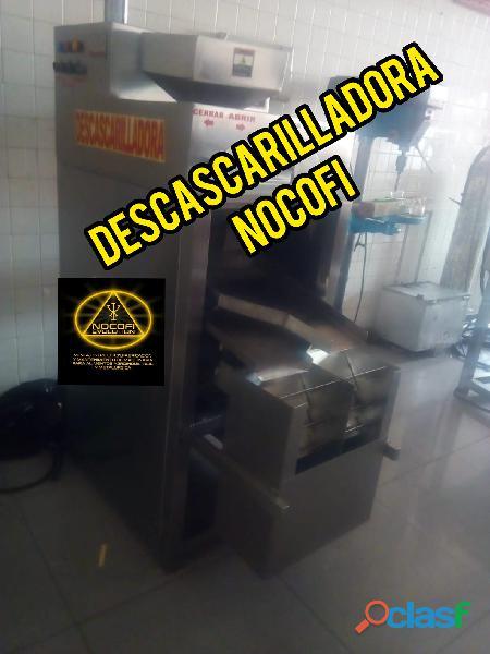 Descascarilladora de cacao, maquina proceso de cacao