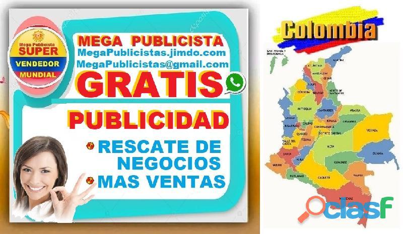 ⭐ gratis, mega publicistas, ultra vendedor, super publicista, agencia publicidad, villavicencio, met