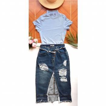 Conjunto falda mas crop top