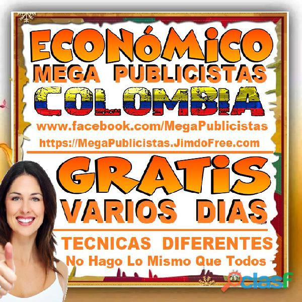 ⭐ gratis, mega publicistas pereira, super publicista, ultra agencia publicidad, marketing, mercadeo,