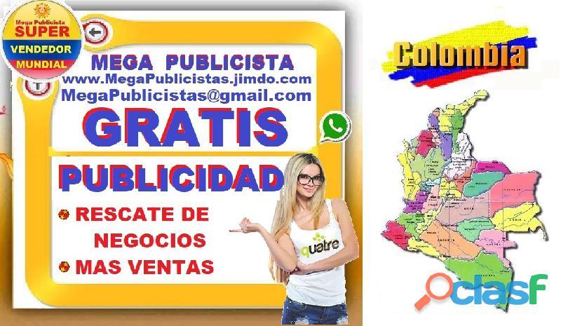 ⭐ gratis, mega publicistas, ultra vendedor, super publicista, agencia publicidad, ibague, espinal, n