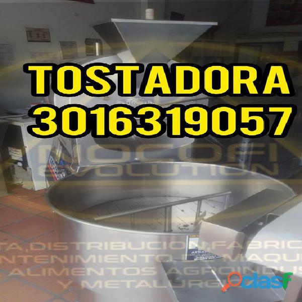 Maquina tostadora / maquina descascarilladora / maquina refinadora / maquina conchadora en colombia.