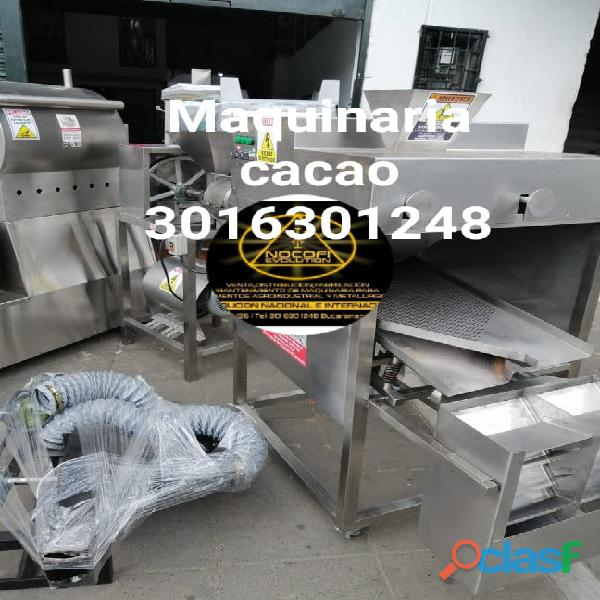 Maquinaria de cacao