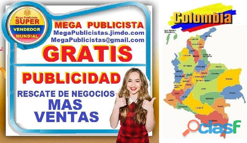 ⭐ gratis, mega publicistas, ultra vendedor, super publicista, agencia publicidad, santa marta, ciéna