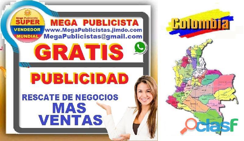 ⭐ gratis, mega publicistas, ultra vendedor, super publicista, agencia publicidad, pasto, popayan, ne