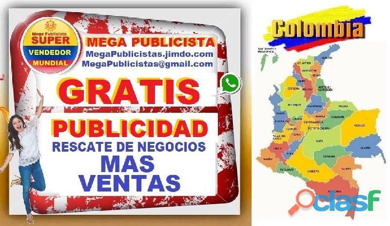⭐ gratis, mega publicistas, ultra vendedor, super publicista, agencia publicidad, valledupar, aguach