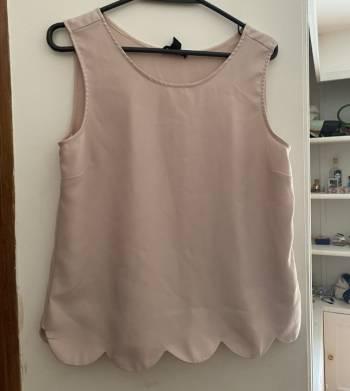 Camisa baby pink nueva