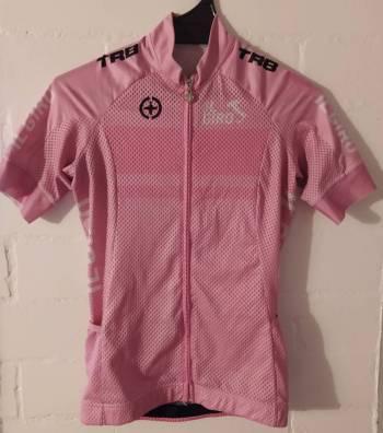 Jersey ciclismo rosado