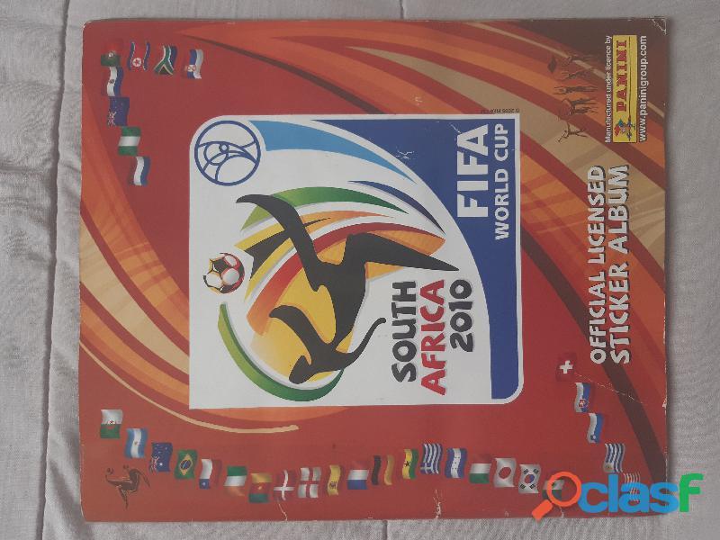 Álbum panini south áfrica 2010