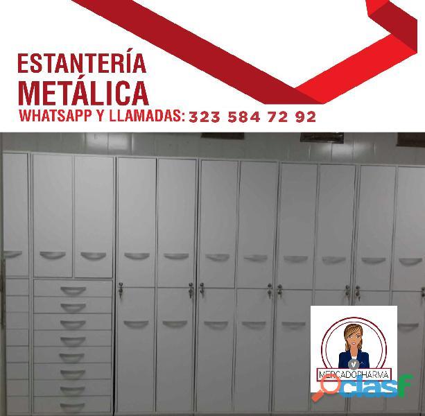 Columnas metalicas personalizadas farmacias