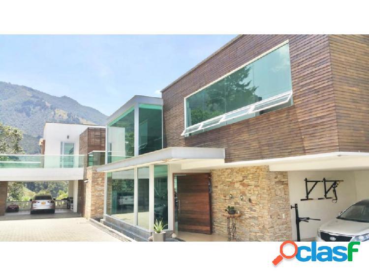 House for sale / poblado las palmas, medellin colombia