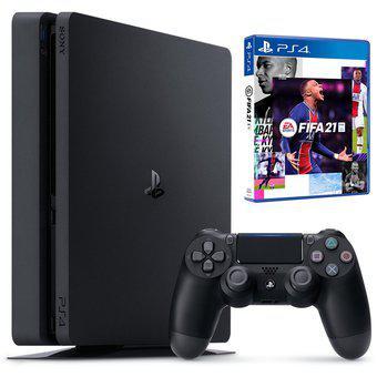 Consola ps4 + fifa 21 ps4 500gb