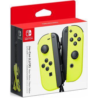 Control nintendo switch joy-con amarillo l y r