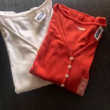 Old navy 2 x 1 camisetas basicas
