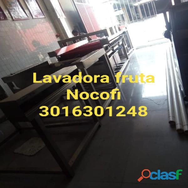LAVADORA DE FRUTA