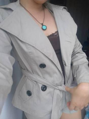 Chaqueta formal impermeable