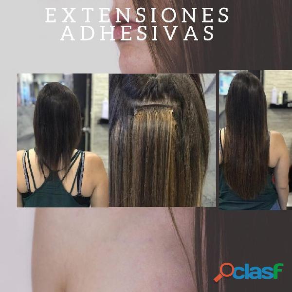 Extensiones de cabello 100 % natural Medellin