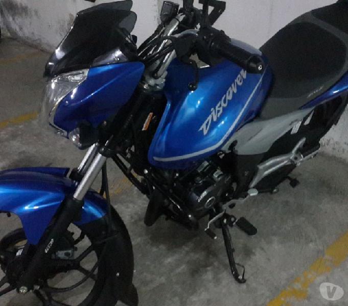 Vende moto discover 125 st. monoshock. m. 2015. $3.100.000