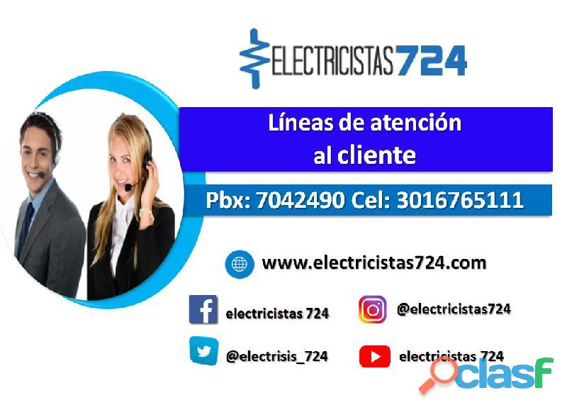 Electricistas 724 Instalaciones eléctricas