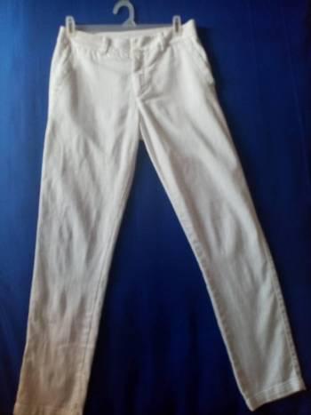 Pantalón ela blanco talla 6