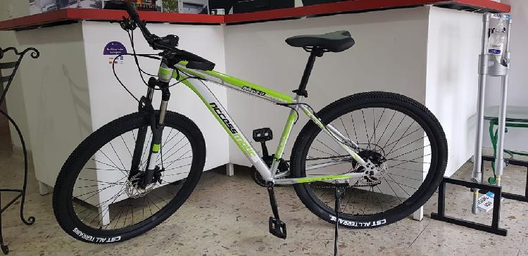 Ganga! bicicleta para estrenar