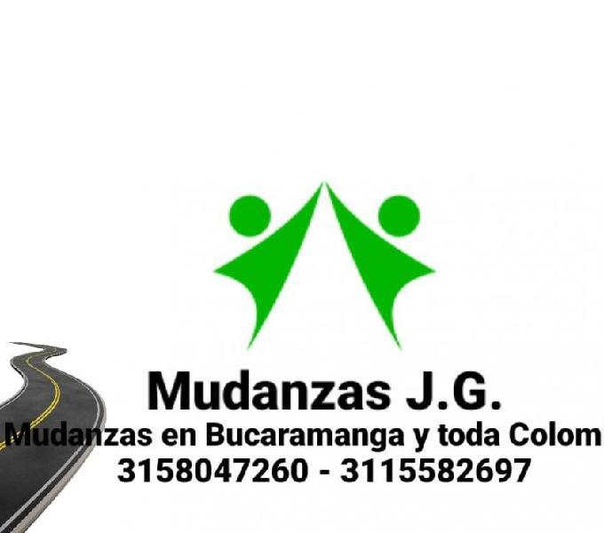 Mudanzas j.g. mudanzas en bucaramanga y toda colombia