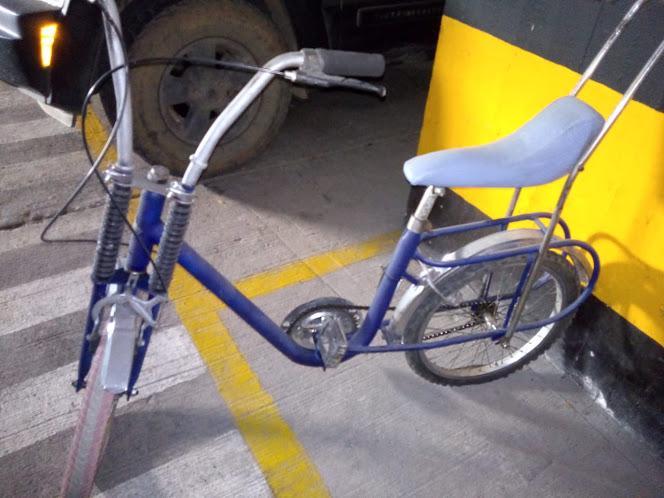 Bicicleta estilo monareta
