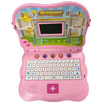 Computador didactico infantil de juguete para niña con