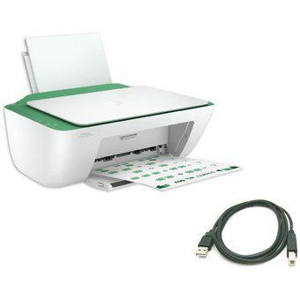 Impresora hp 2375 todo en uno + cable usb