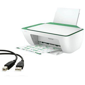 Impresora hp 2375 multifuncional con cable usb