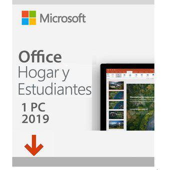 Office 2019 hogar & estudiantes para pc
