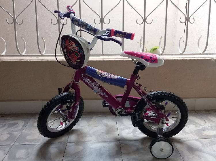 Venta de bicicleta para niña de 2 a 5 años